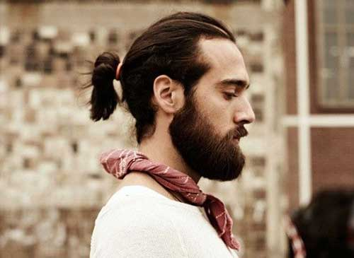 Mens Ponytail Hairstyles-11