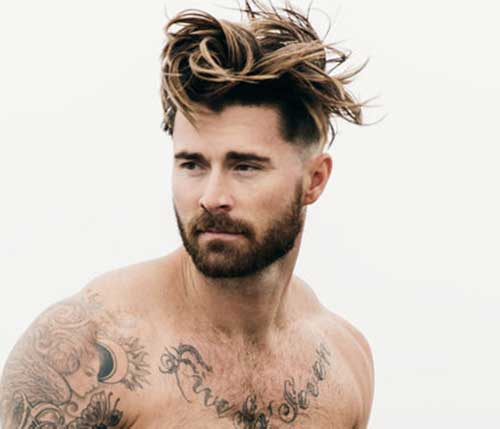 Messy Hairstyles Men-12