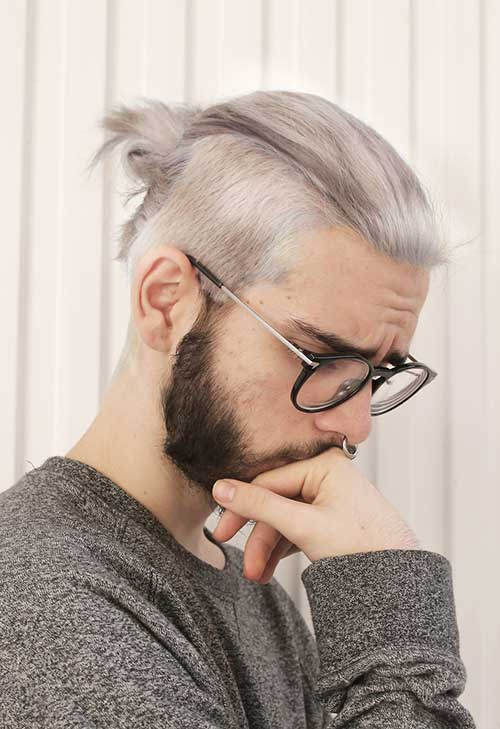 Mens Ponytail Hairstyles-14