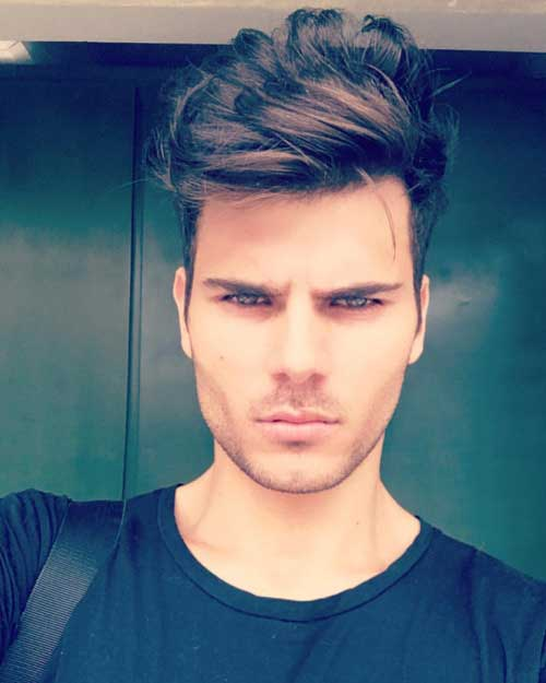 Messy Hairstyles Men-16