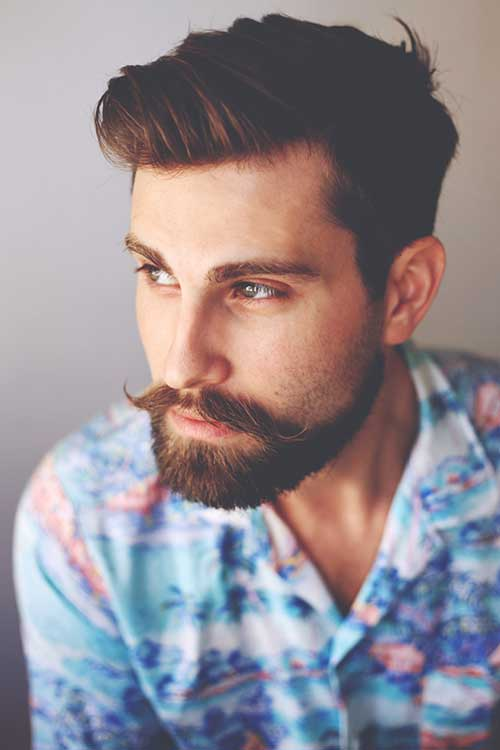 Medium Hairstyles Men-6