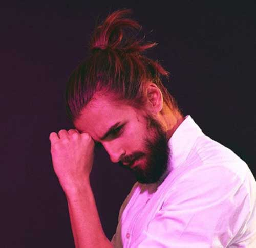 Men Ponytail