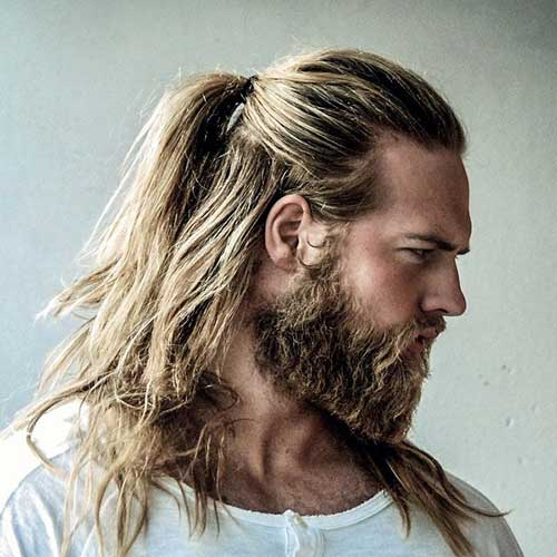 15 Mens Bun & Ponytail Hairstyles