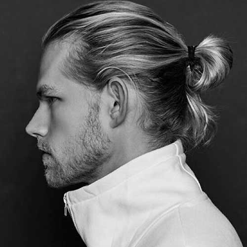 Brilliant 15 Mens Ponytail Hairstyles Mens Hairstyles 2016 Short Hairstyles Gunalazisus