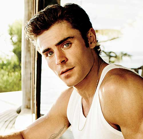 Remarkable, Men s hairstyles short zac efron think, what