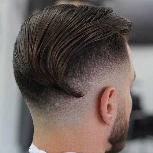 Slick Back Hair Men-10