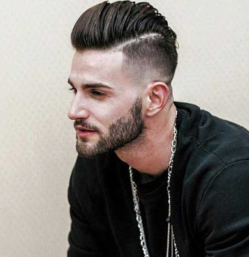 Short and Medium Haircuts for Men-12