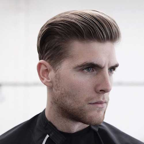 Slick Back Hair Men-12