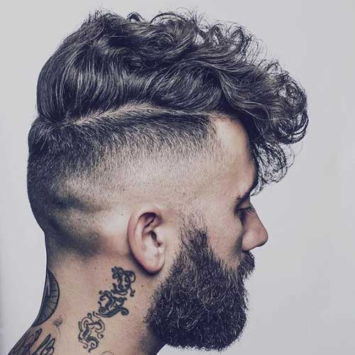 Short and Medium Haircuts for Men-13