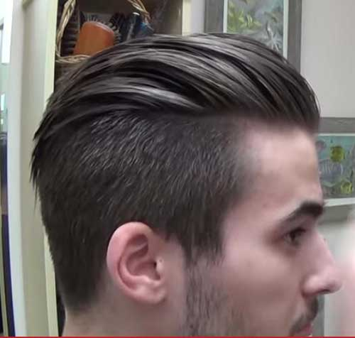 Slick Back Hair Men-14