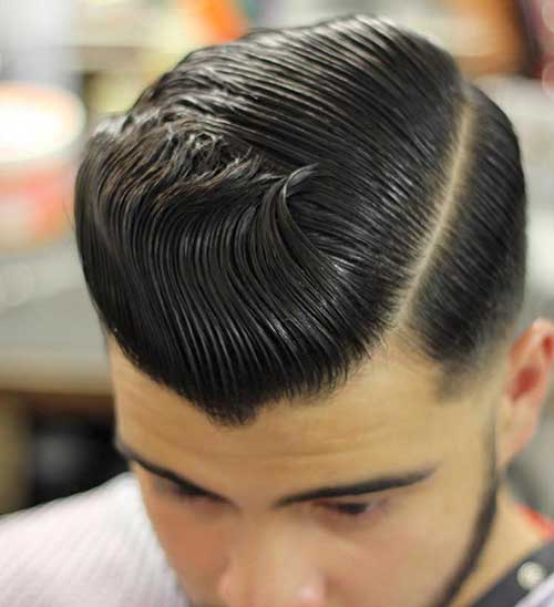 Slick Back Hair Men-15
