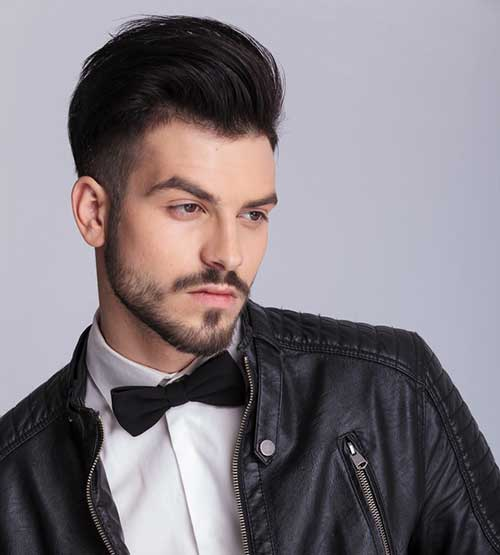 Slick Back Hair Men-16