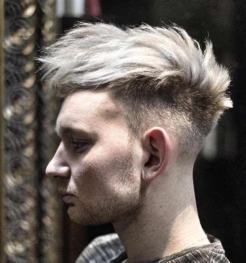 Short and Medium Haircuts for Men-19