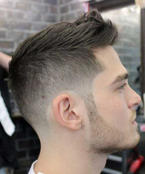 Short and Medium Haircuts for Men-20