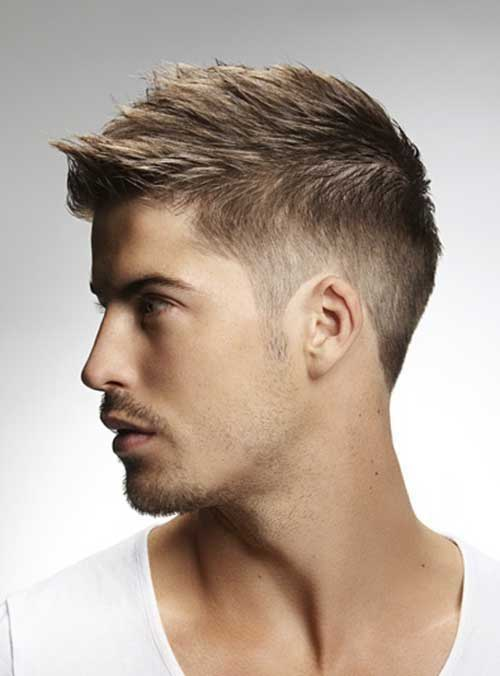 Short and Medium Haircuts for Men-7