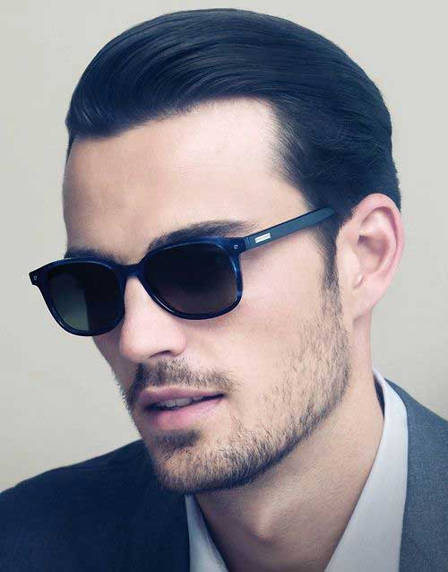 Slicked Back Hairstyles Men