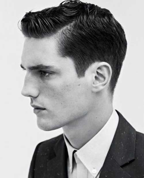 1940s Short Hairstyles for Men