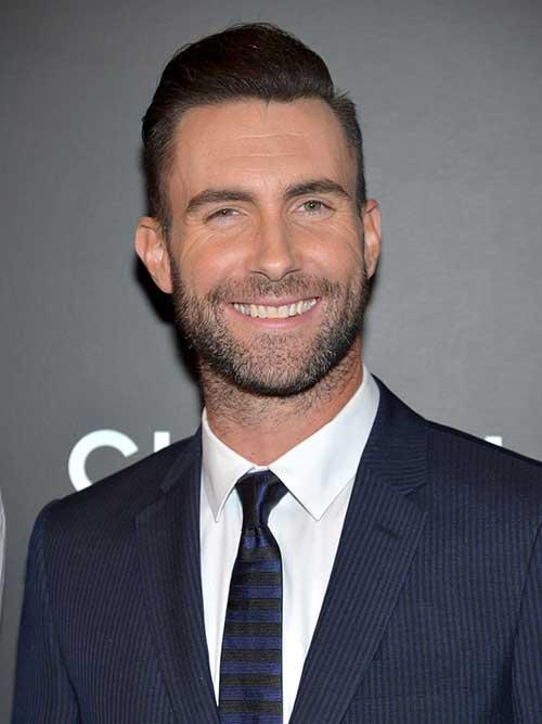 Adam Levine Classy Hair Cut