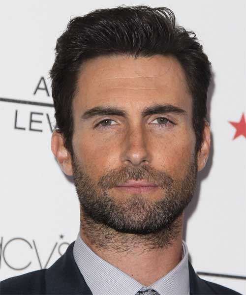 Adam Levine Formal Short Hairstyles 2014-2015