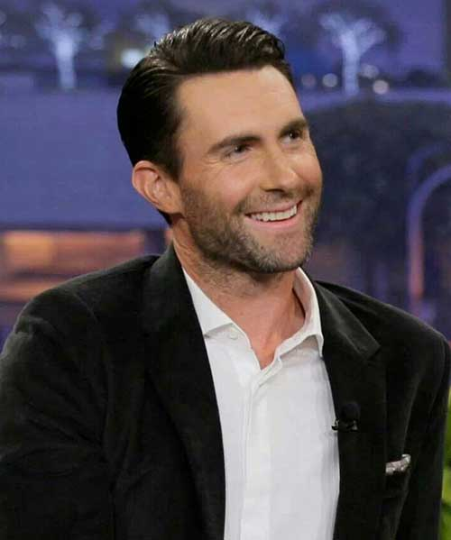 Adam Levine Hair 2014-2015