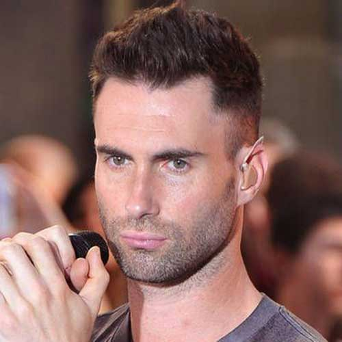 Adam Levine Military Cut Hair