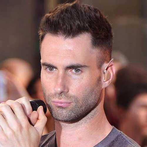 Adam Levine Military Cut Hair