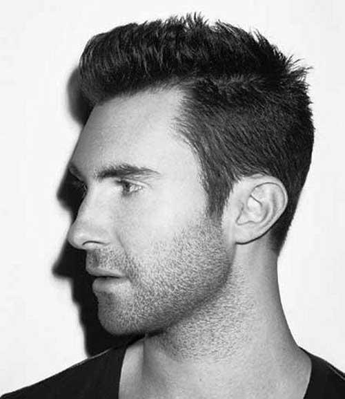 Adam Levine Short Side Hairstyles