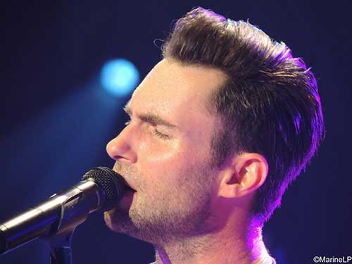 Adam Levine Simple Hairstyles