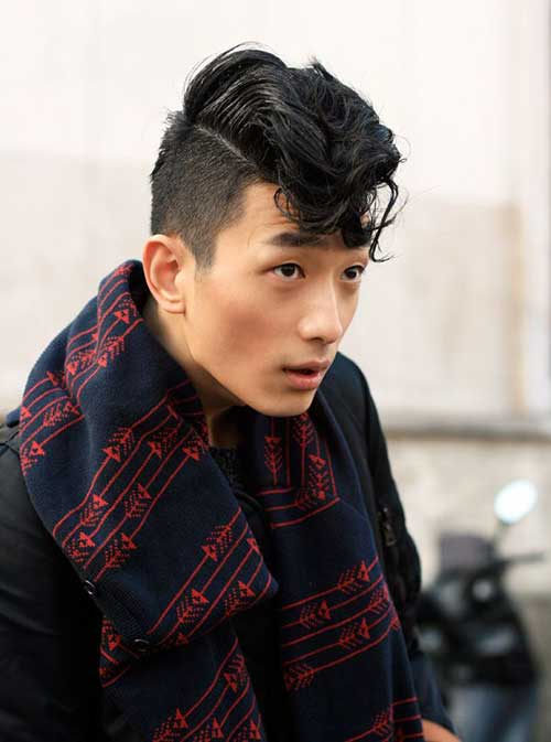 Asian Rockabilly Hairstyles for Men
