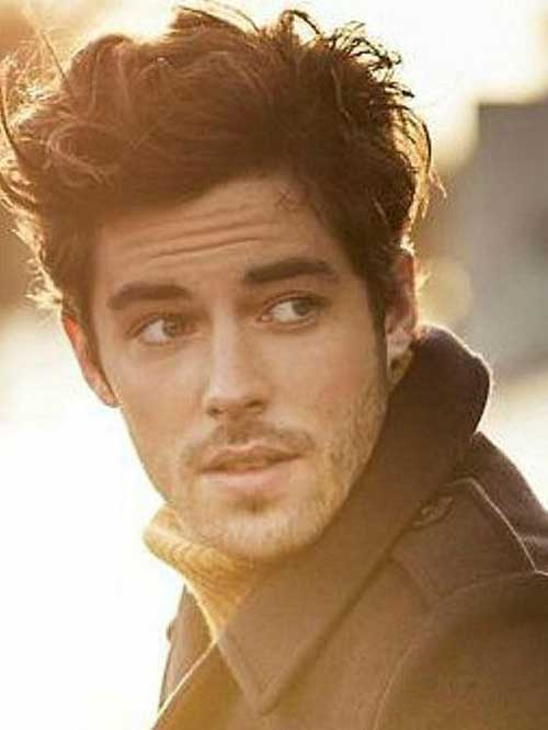 Shoulder Length Wavy Hair Men Top 50 men hairstyles mens hairstyles