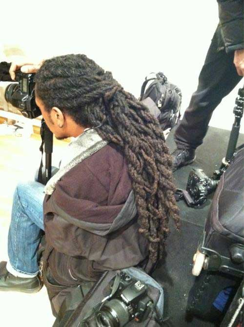Black Men Dreadlock Long Hairstyle