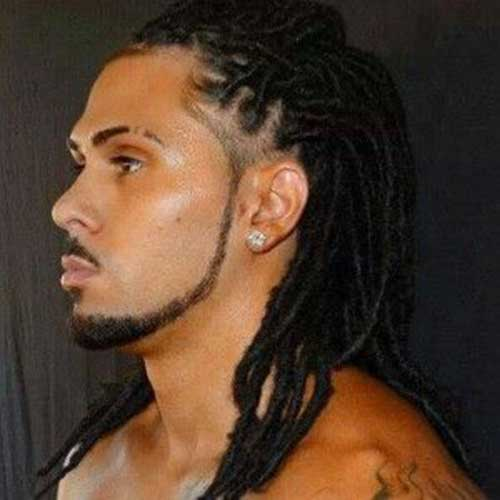 Black Men Dreads Long Hairstyles