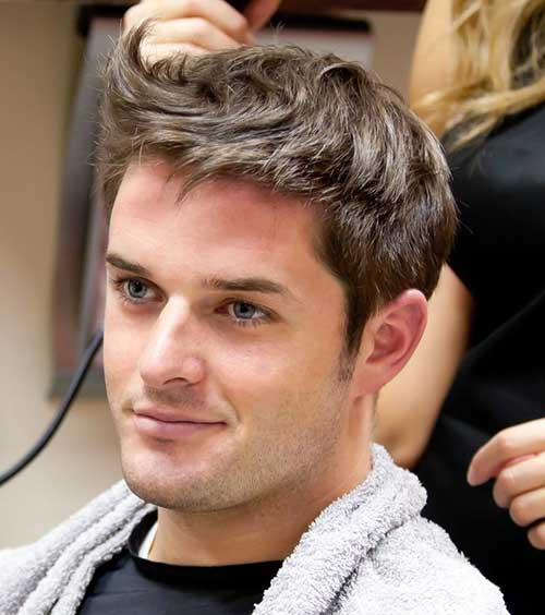 Brown Hair Colour Ideas for Men