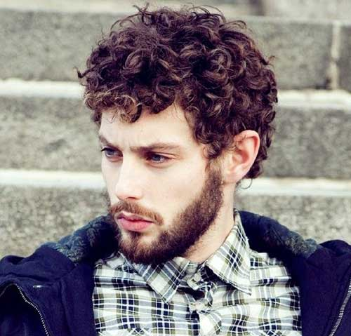 Casual Curly Mens Hairstyles 2014 2015