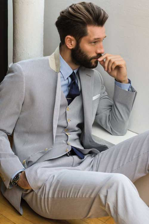 Classy Short Haircut for Men
