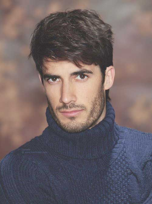 Classy Thick Type Hairstyles for Guys