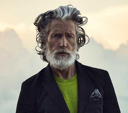 Cool Mens Grey Hair Colour Ideas