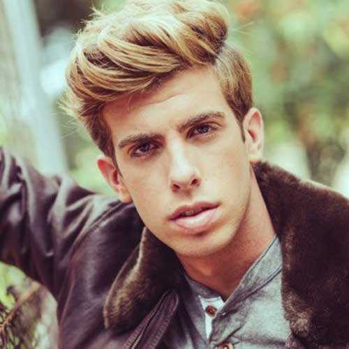 Cool Thick Hairstyles Ideas for Guys