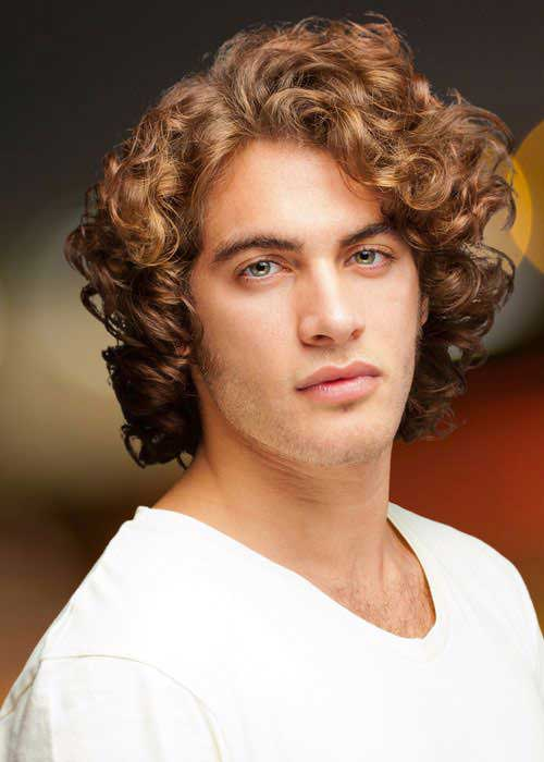 Curly Mens Hairstyles Ideas 2015