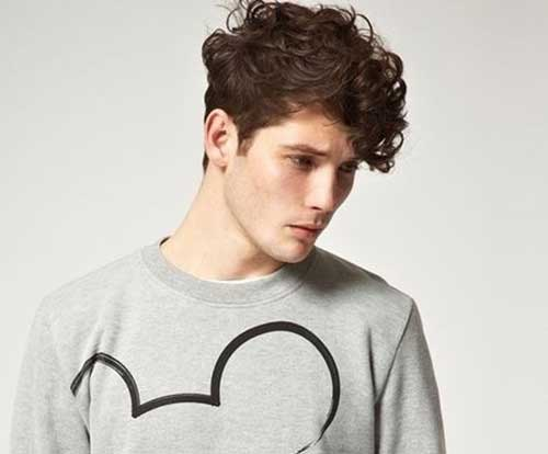 Curly Mens Trendy Hairstyles 2014