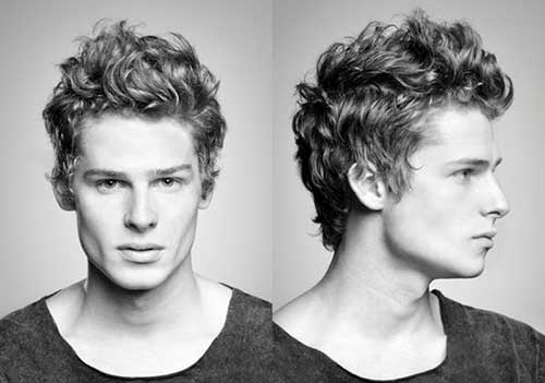 Curly Wavy Men Hairstyles