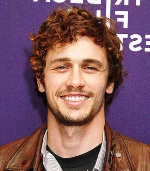 Cute Curly Men Hairstyles 2015