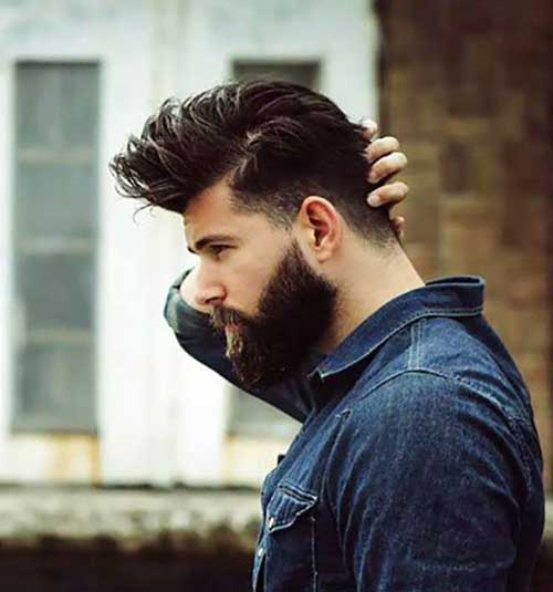 Dark Haircuts for Guys