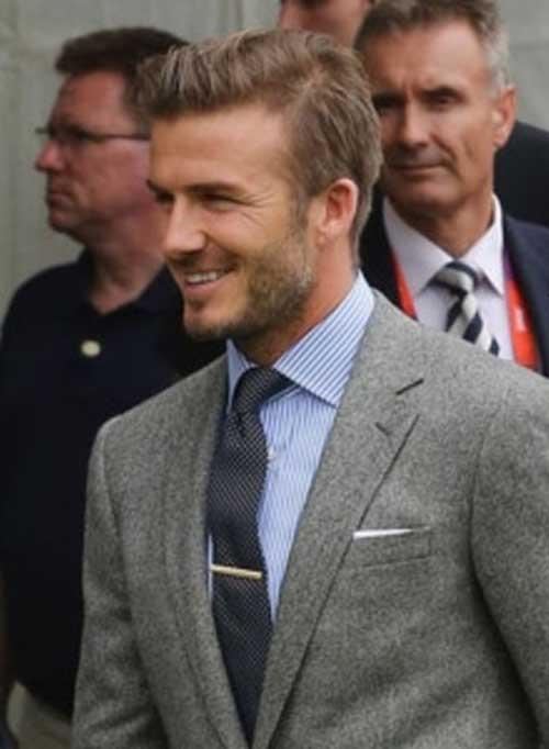 David Beckham Hair 2014-2015