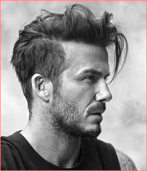 Top David Beckham Hair 2015