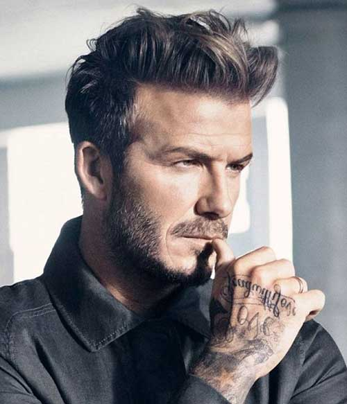 David Beckham Haircut Pictures