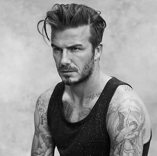 David Beckham Latest Hairstyles for Boys