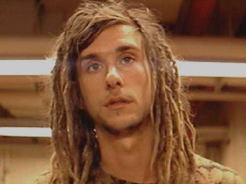 Blonde Dreadlocks Hairstyle For Boho Men