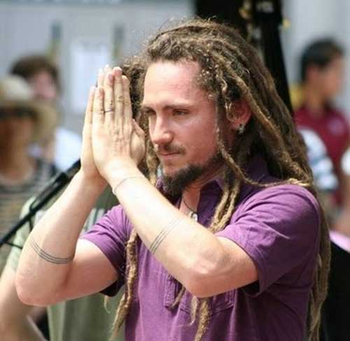 Long Dreads Hairstyle for Men