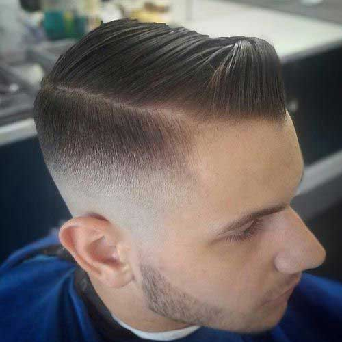 Faded Cut Latest Short Hairstyles for Men